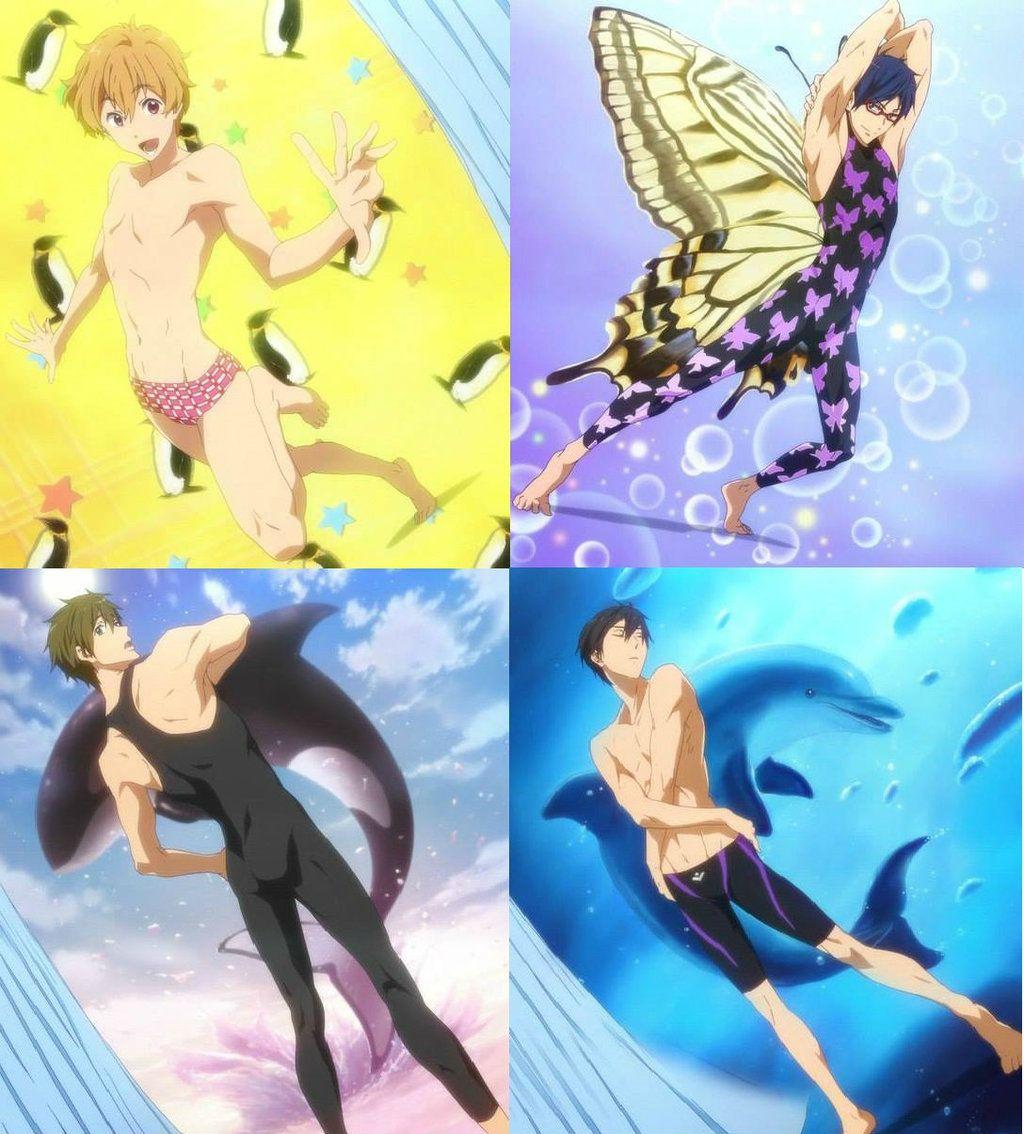 Haruka Nanase Story Free Anime Anime Free Iwatobi Swim Club