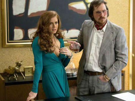 "FIRST LOOK: Christian Bale, Bradley Cooper & Amy Adams in ""American Hustle"""