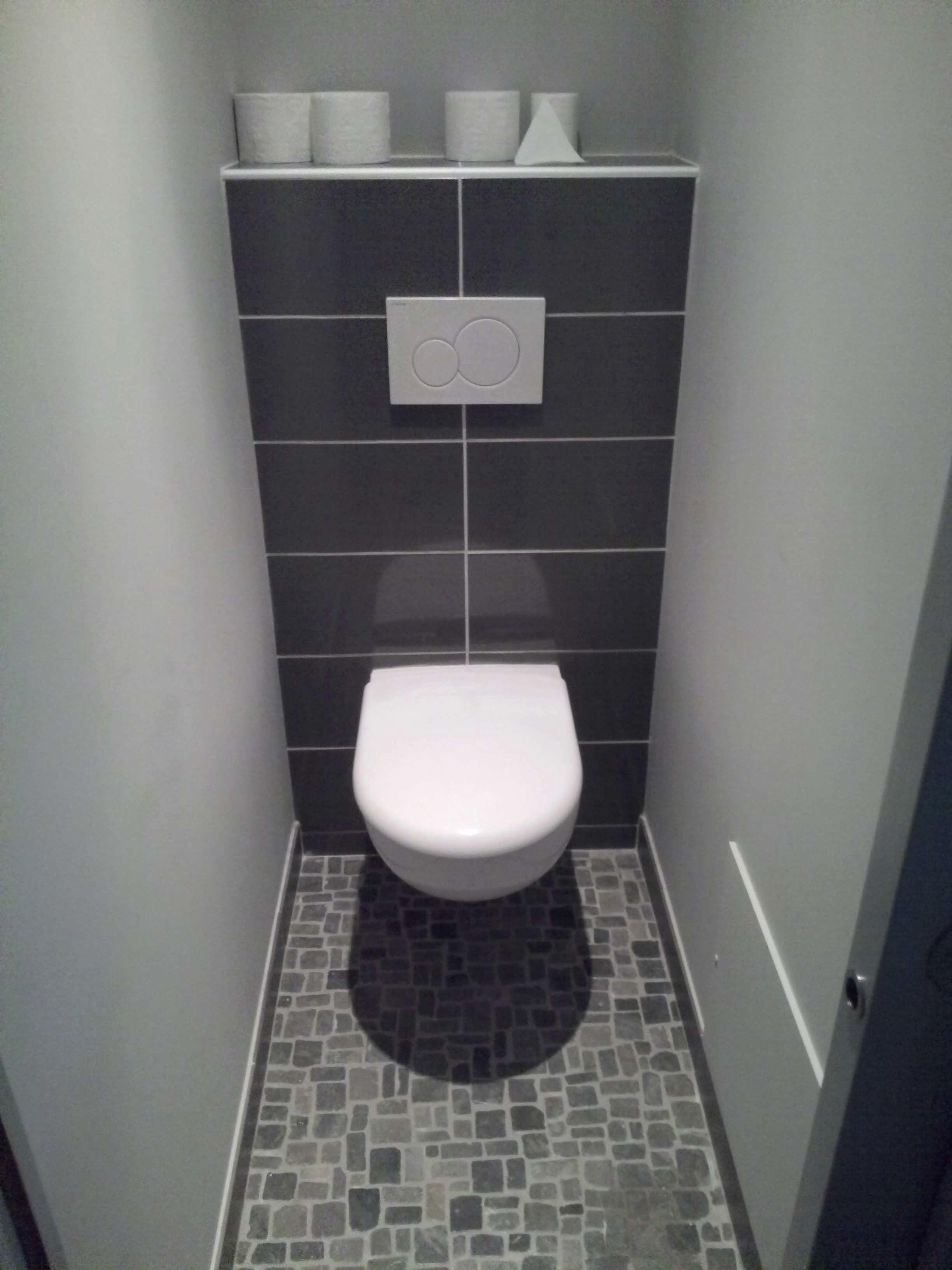 Beautiful Couleur Peinture Wc | Idées de maison | Salle de bain, Peinture toilettes et Carrelage ...