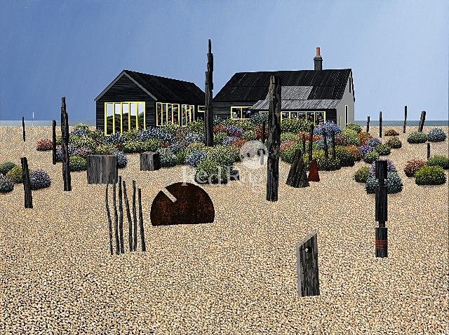 Derek Jarman's Garden by Michael Kidd