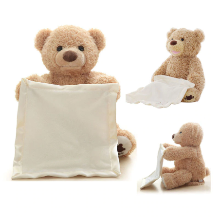 Peek A Boo Talking Teddy Bear  #bearplushtoy