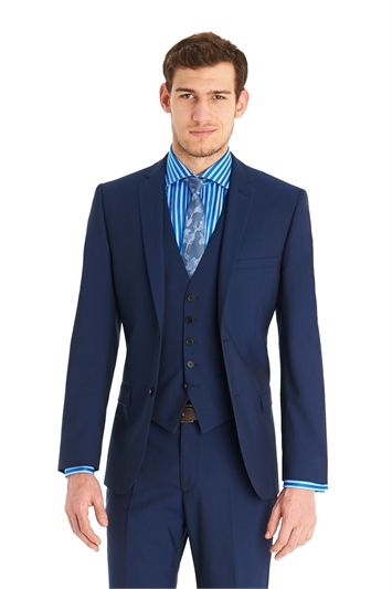 f3fda15596ef Ted Baker Tailored Fit Blue Mix And Match Suit Jacket