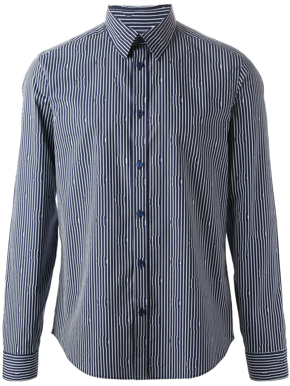 14c09d471b9c91 Kenzo Stripes And Dots Shirt - Boutique Mantovani - Farfetch.com | A ...
