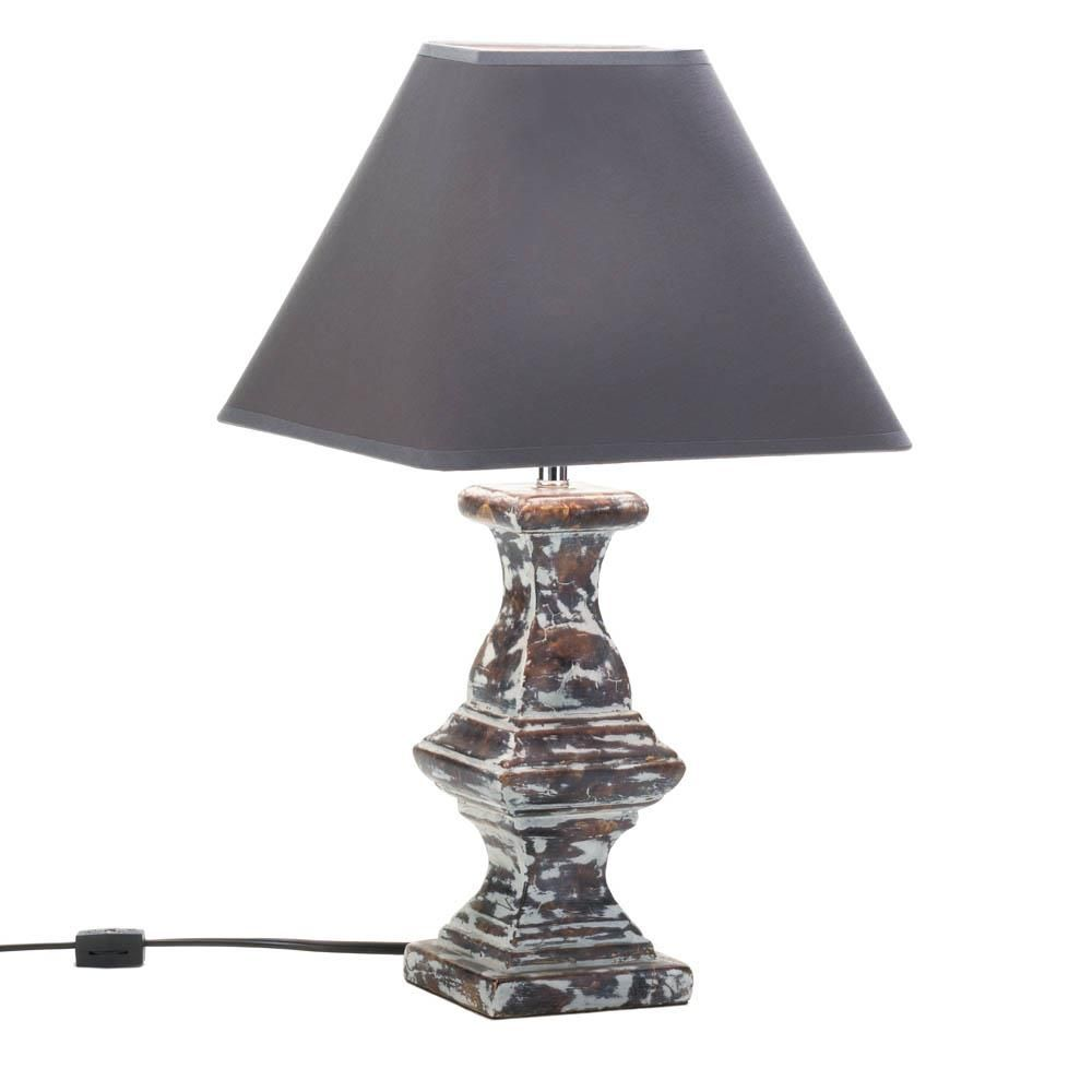 Recast Table Lamp Item 10016961 This Lamp Has A Story To Tell And It Starts And Ends With Stylish Design Its Dramatic Lamp Table Lamp Side Table Lamps