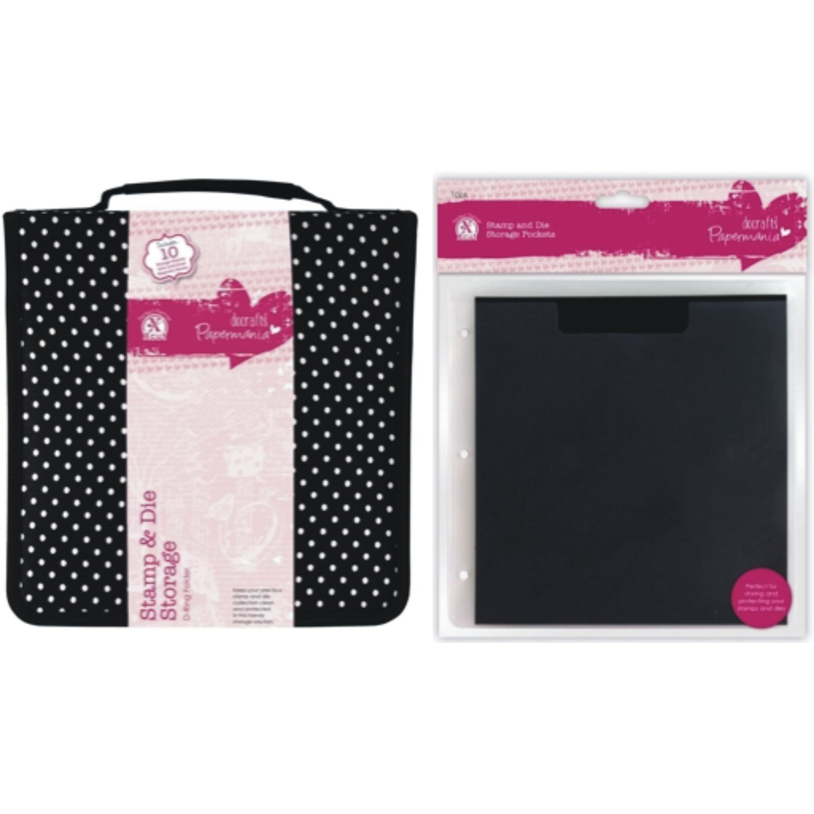 Docrafts Papermania Stamp And Die Storage D Ring Folder