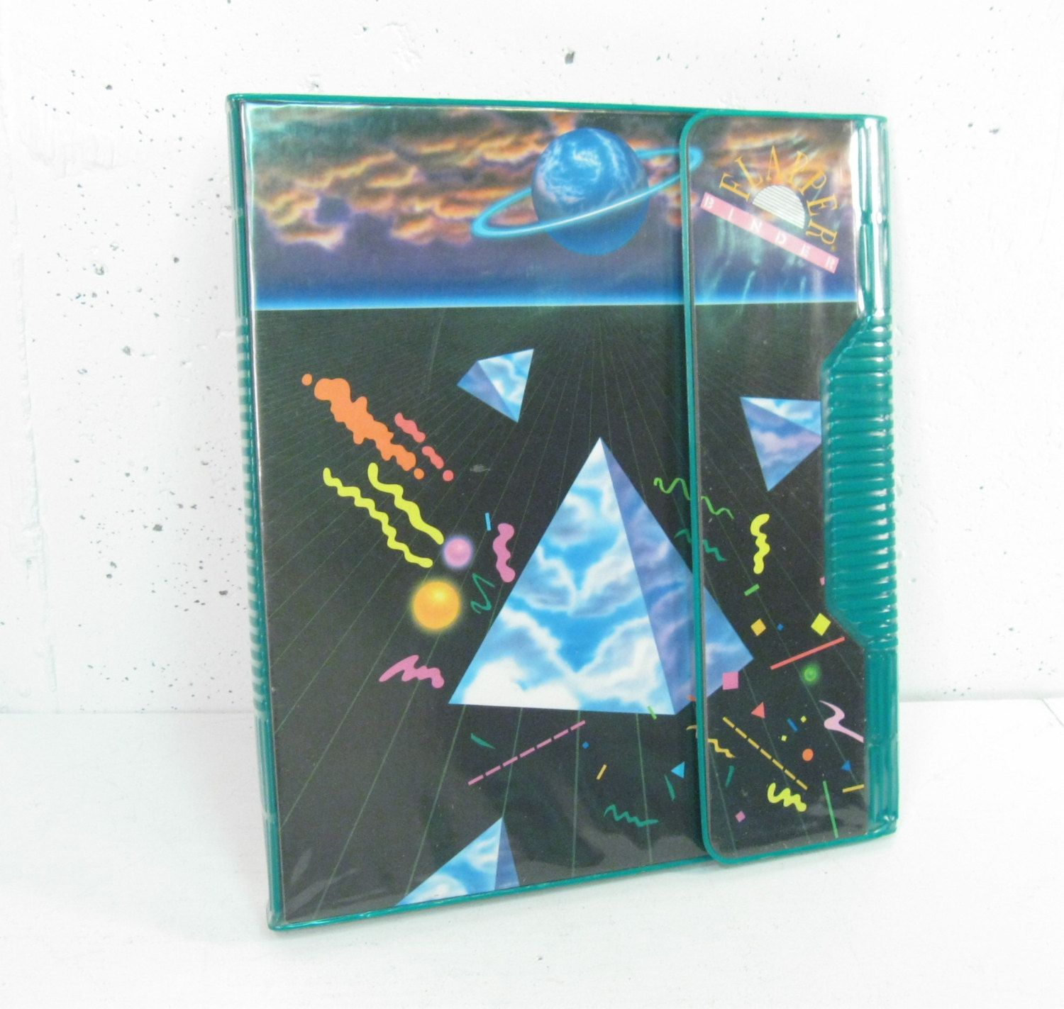 Totally 80s Vintage Trapper Keeper School Binder With