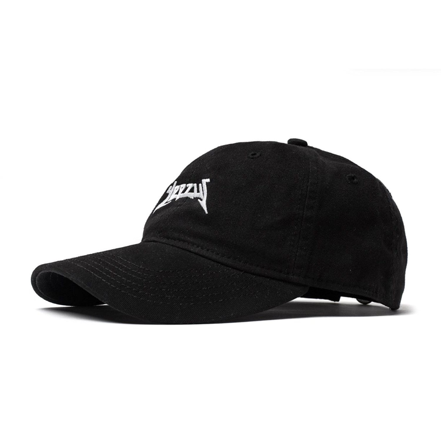 b057777ecb6d1 Yeezus Tour Glastonbury Dad Hat Kanye West Yeezy - Black - CA12OC2ZODI -  Hats   Caps