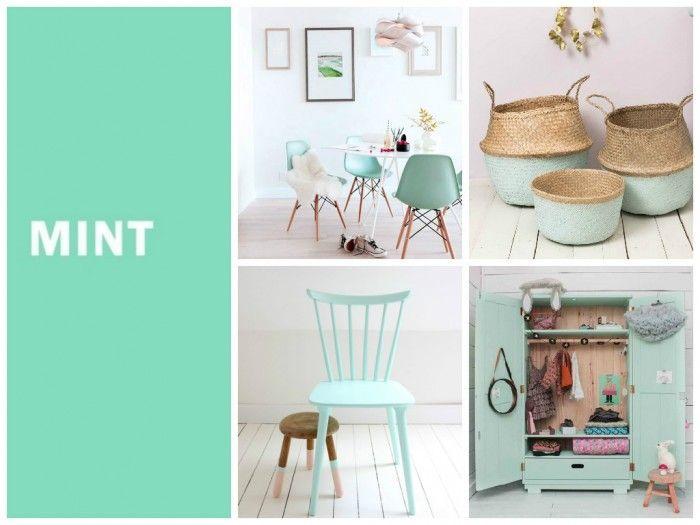 couleur menthe à l\'eau ou mint | chambre enfant fille | Pinterest ...