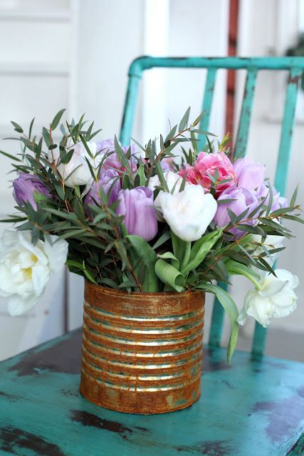 Pretty & rustic arrangement <3