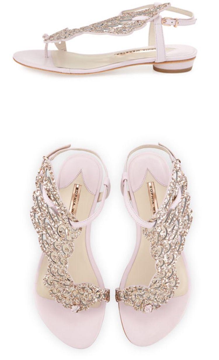 638e7a4ef4d04 Sophia Webster - Seraphina Angel-Wing Flat Sandal
