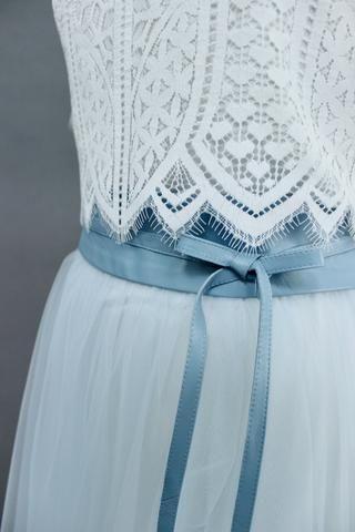 Tüllrock Blau Grau kurz (mit Bildern) | Blaues kleid ...