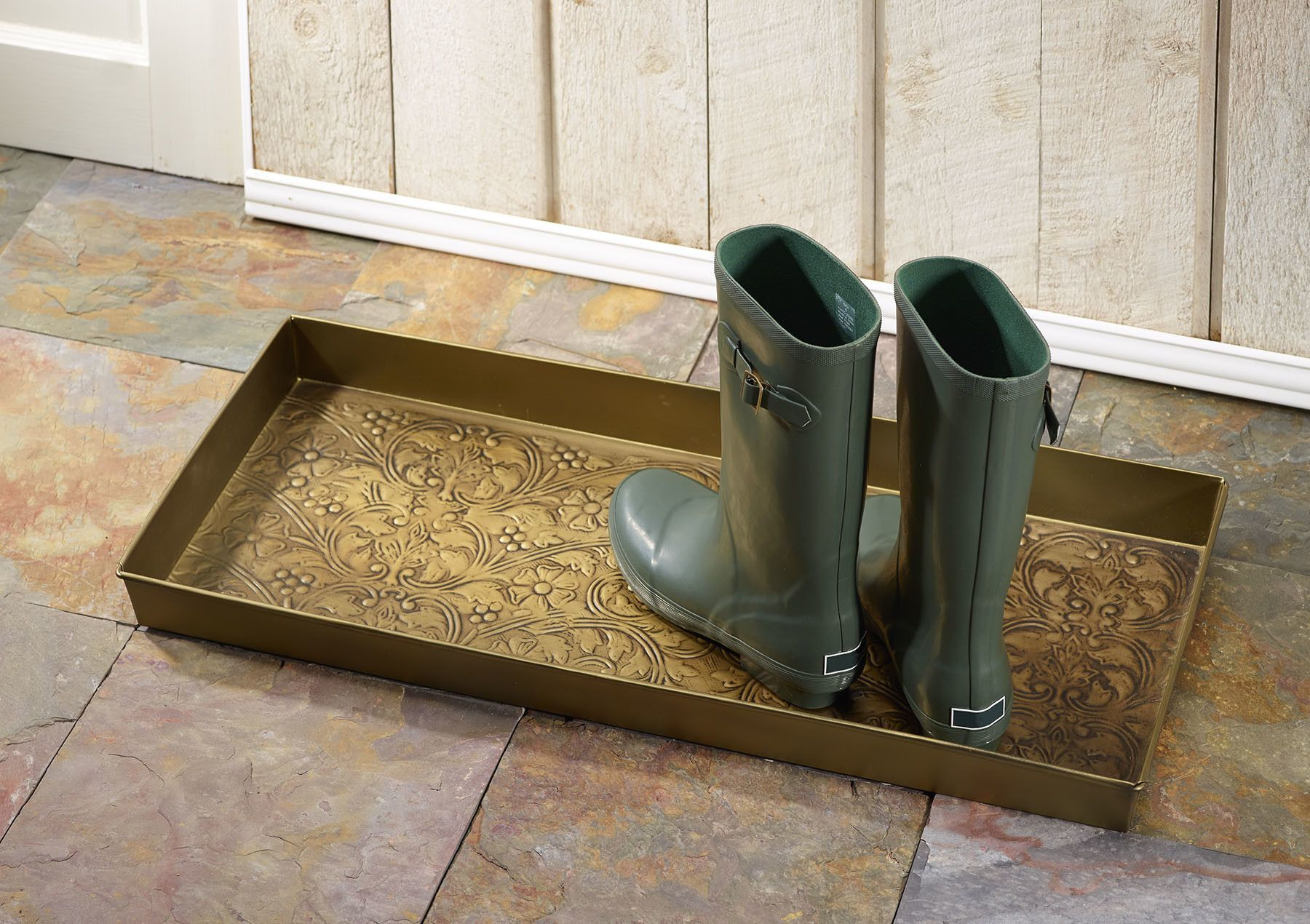 Arabesque Boot Tray Boot Tray Tray Barrel Chair