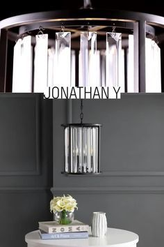 This geometric ceramic table lamp sits on a gold leaf base. #JonathanY #HomeDecor #Lamps #DesignerLamps #ModernLighting #CeilingLighting #PendantLighting  This geometric ceramic table lamp sits on a gold leaf base. #JonathanY #HomeDecor #Lamps #DesignerLamps #ModernLig