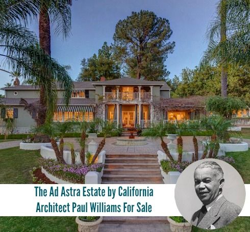 Bel air ca home designed by paul williams house design styles california homes also rh pinterest