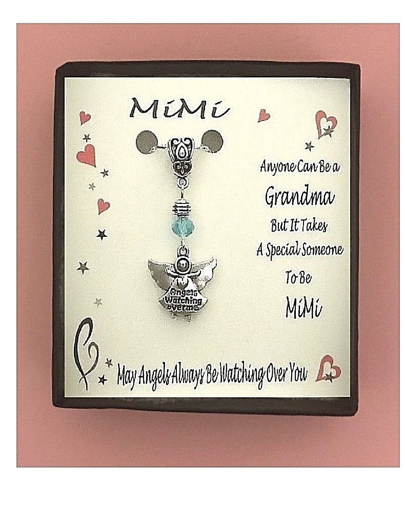 Mimi Angels Watching Over  Gift Boxed Charm Necklace FREE SHIPPING!