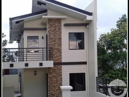 Mandaue brand new house and lot with modern design for Modern zen type house design