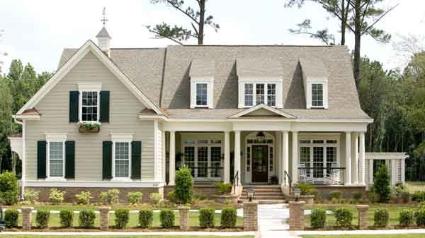 Exterior Color...southern Living Home Pictures | ... Landing   Frank