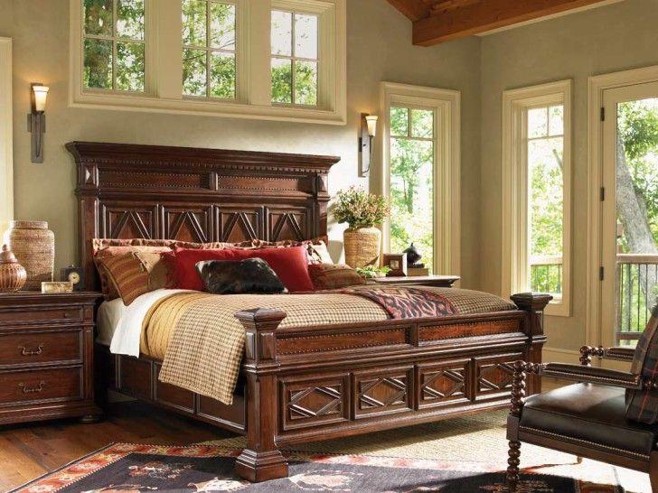 Schwarze Rustikale Schlafzimmer Möbel Rustikales