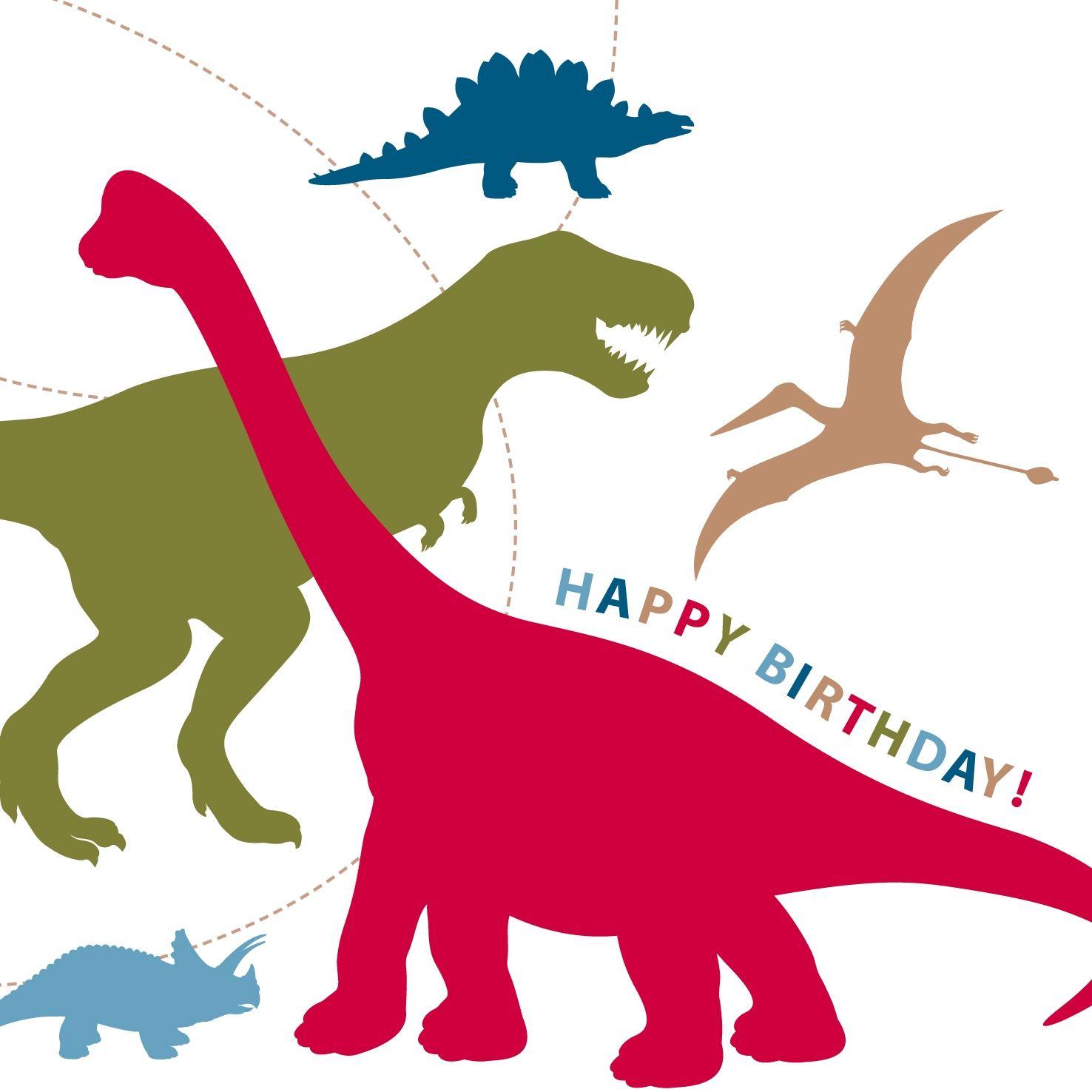 Happy Birthday Dinosaur Ecard