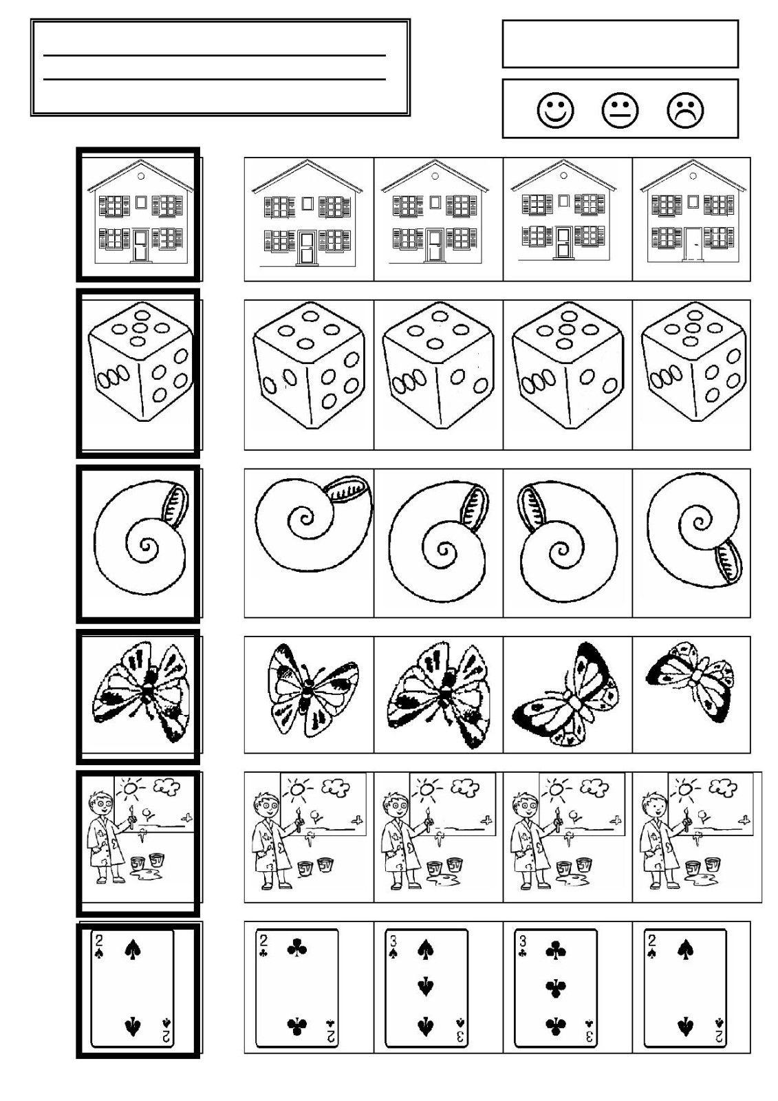 Workbooks visual discrimination worksheets : Je suis enseignante depuis 34 ans, seulement depuis 11 ans en ...