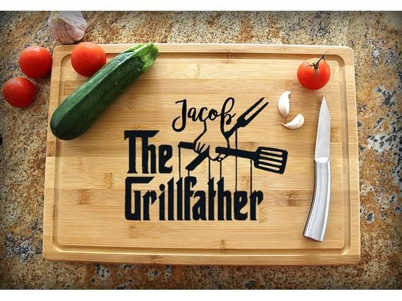 Personalized Cutting Board, Chef Gift, Gift for Dad, Gifts for Mom, Custom Cutting Board, Gift Fiance, Grandpa gift Father Gift Gift for Him #grandpagifts
