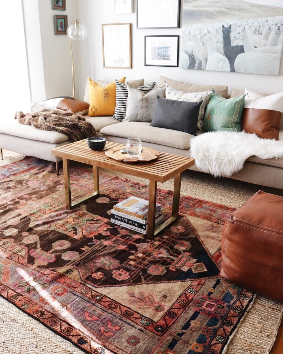 54 Best Rug To Decor Your First Living Room is part of Cool rugs - If you're in search for a rug store having your desired Moroccan rug which could make your first living room […]