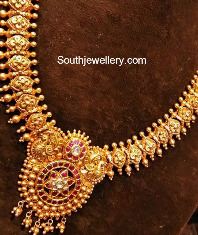 gold jewellery designs, indian jewellery, south indian jewellery ...