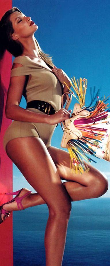 Gisele for Louis Vuitton Spring 2006