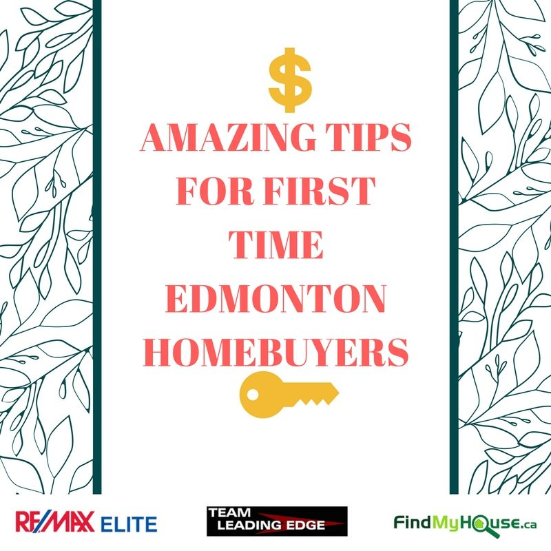 Edmonton first time home buying