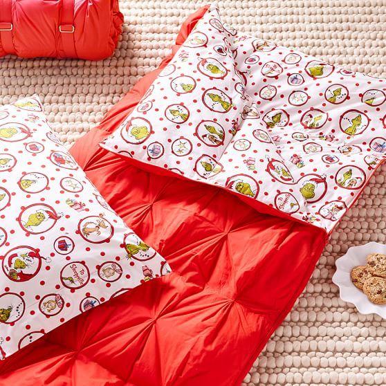 Grinch™ Sleeping Bag + Pillowcase | PBteen