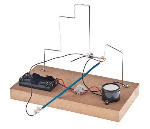 Jeu du0027adresse -Fil chaud- circuit électrique Petites expériences - cable d alimentation electrique pour maison