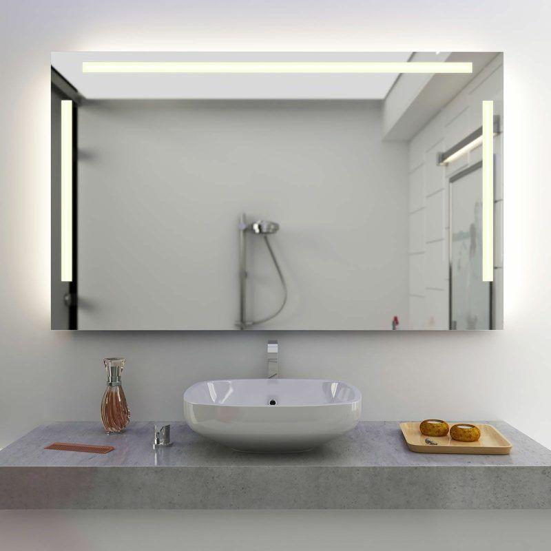 Spiegelbeleuchtung Im Badezimmer 45 Inspirierende Beispiele