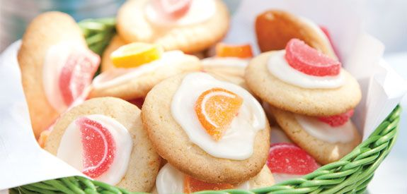 Ingredients Makes: 3 dozen cookies Cook: 30 minutes 1 (17.5-ounce) package sugar cookie mix 1⁄2 cup butter, softened 1 large egg 1 tablespoon orange zest 1