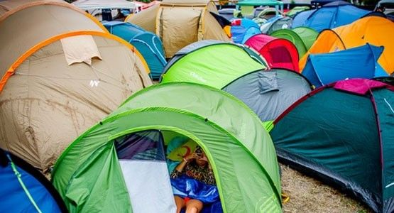 Pre-pitched tents at Balaton Sound Festival. Festival c&ing set up ready! & Pre-pitched tents at Balaton Sound Festival. Festival camping set ...