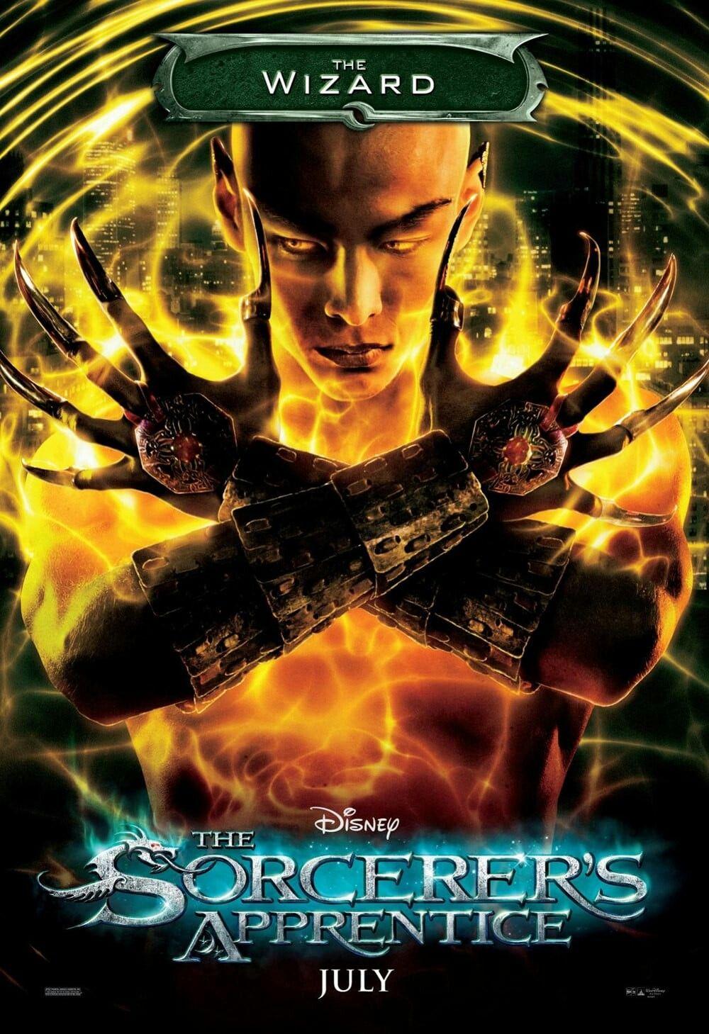 The Sorcerers Apprentice Movie Poster Fantastic Movie Posters Scifi Movie Posters Horror Movie Posters Action Mov El Aprendiz De Brujo Carteles De Cine Cine