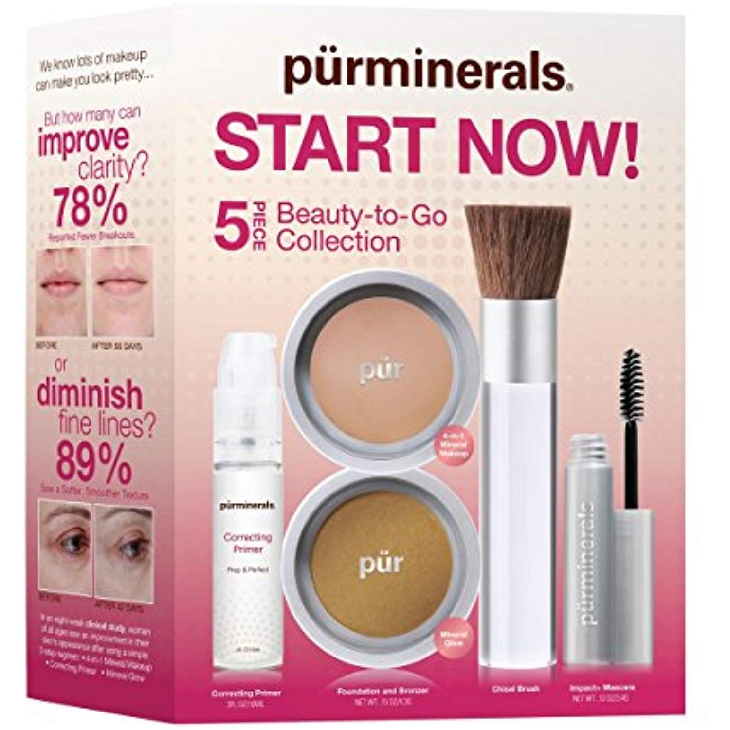 PÃœR 4Piece Flawless Complexion Starter Kit in Medium
