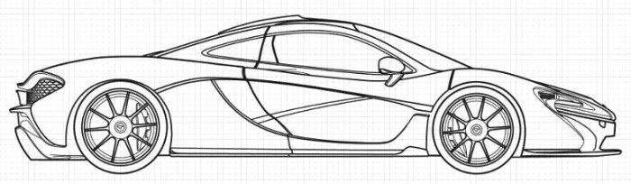 mclaren coloring pages Mercedes McLaren P1 Coloring Page | Teacher Stuff | Coloring pages  mclaren coloring pages