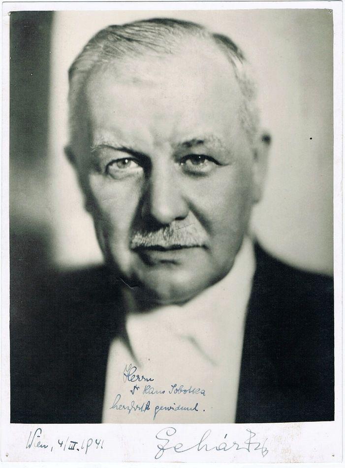 Franz Lehar Autograph Signed Photo Coa Classical Music Classical Music Composers Famous Composers
