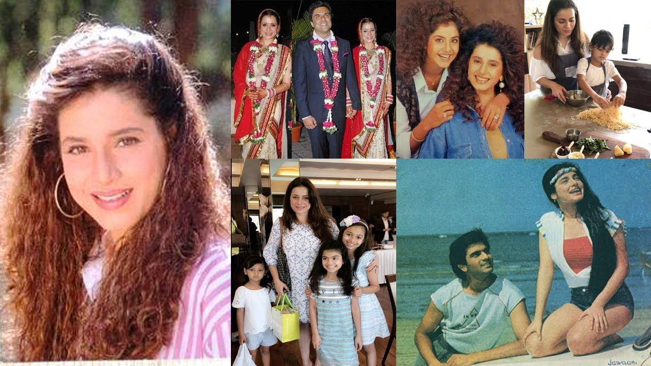 Neelam Kothari Family Photos with Husband and Kids