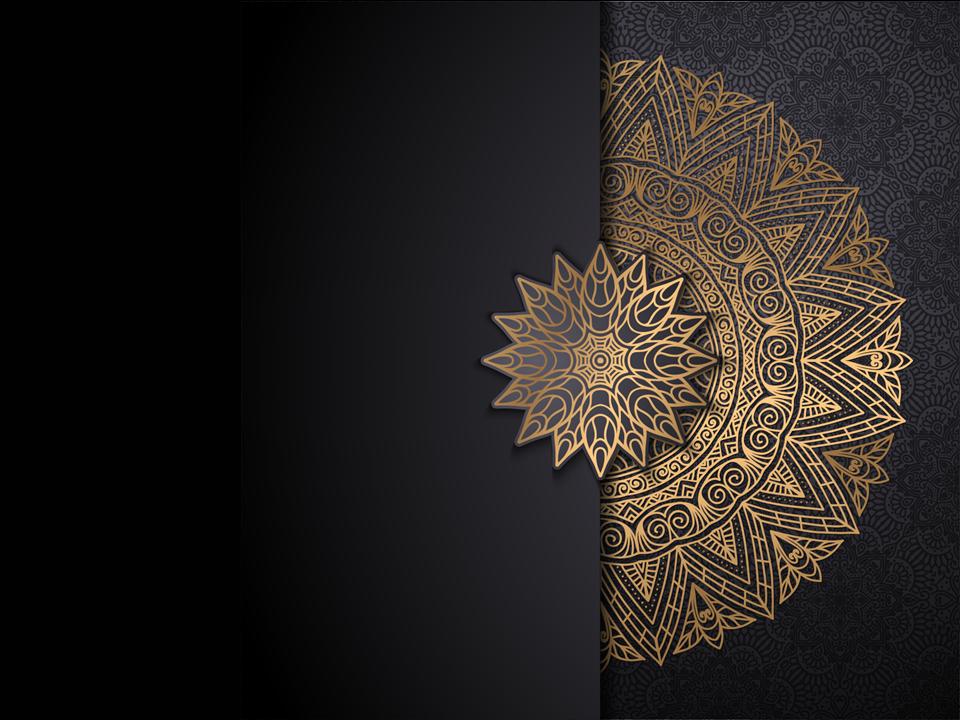 شريحة بوربوينت بزخارف إسلامية متعددة الاستخدام ادركها بوربوينت Islam Background