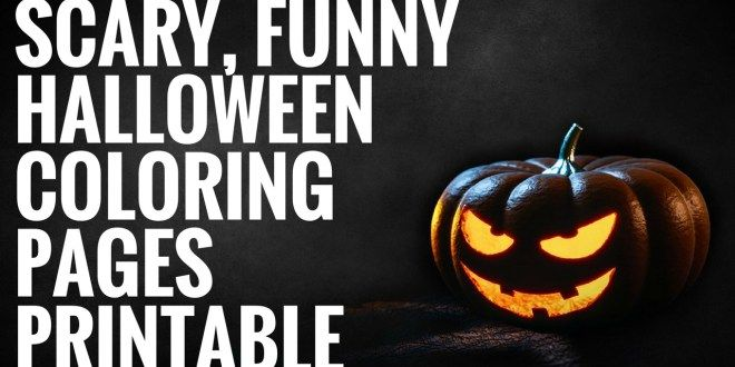 free halloween coloring pages printable for adults
