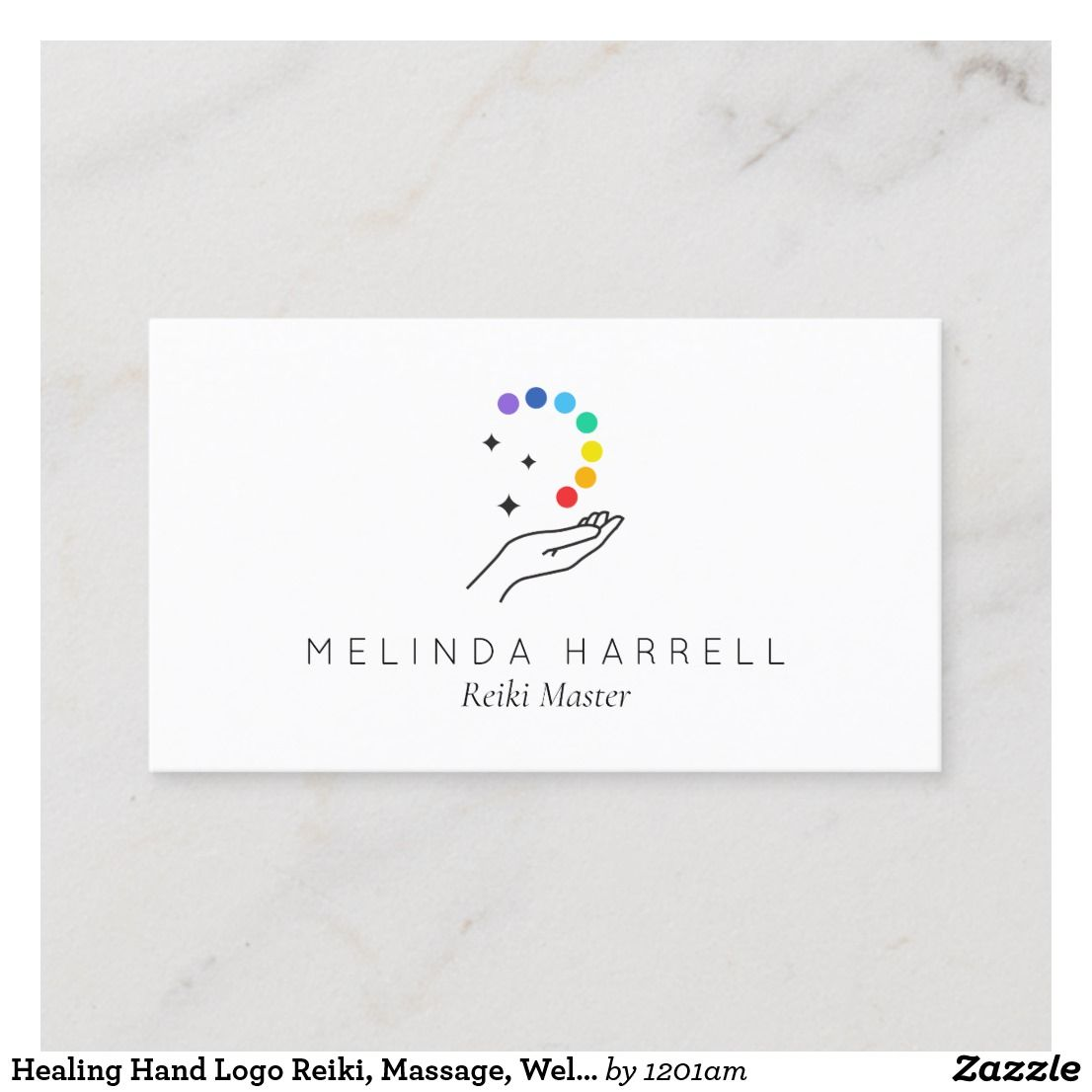 Healing Hand Logo Reiki Healer Wellness Business Card Zazzle Com In 2021 Hand Logo Healing Logo Massage Logo