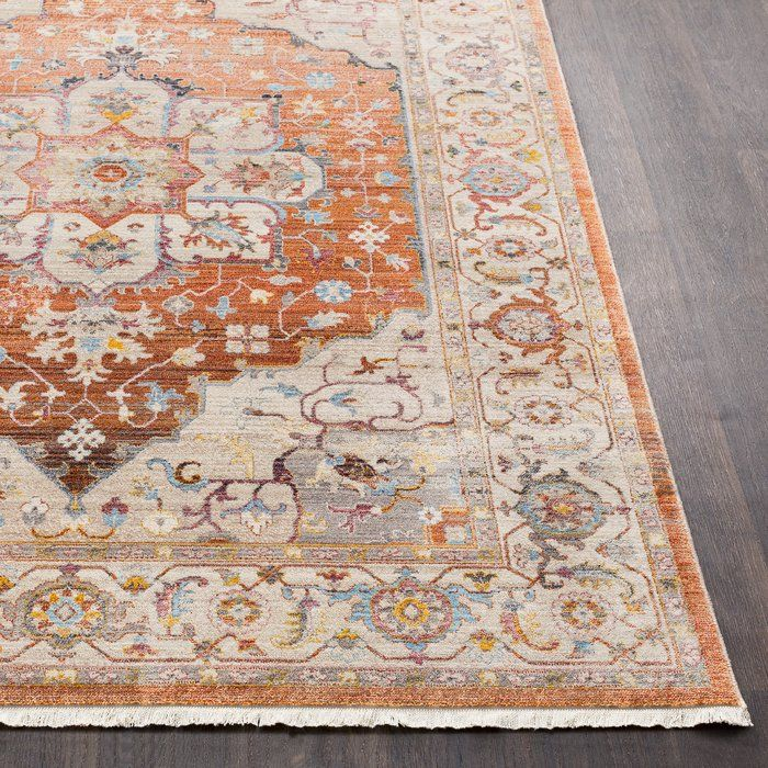 Add A Touch Of Elegance To Your Home With The Beautiful Distressed Springboro Collection By Charlton Home Machin Area Rugs Beige Area Rugs Oriental Area Rugs