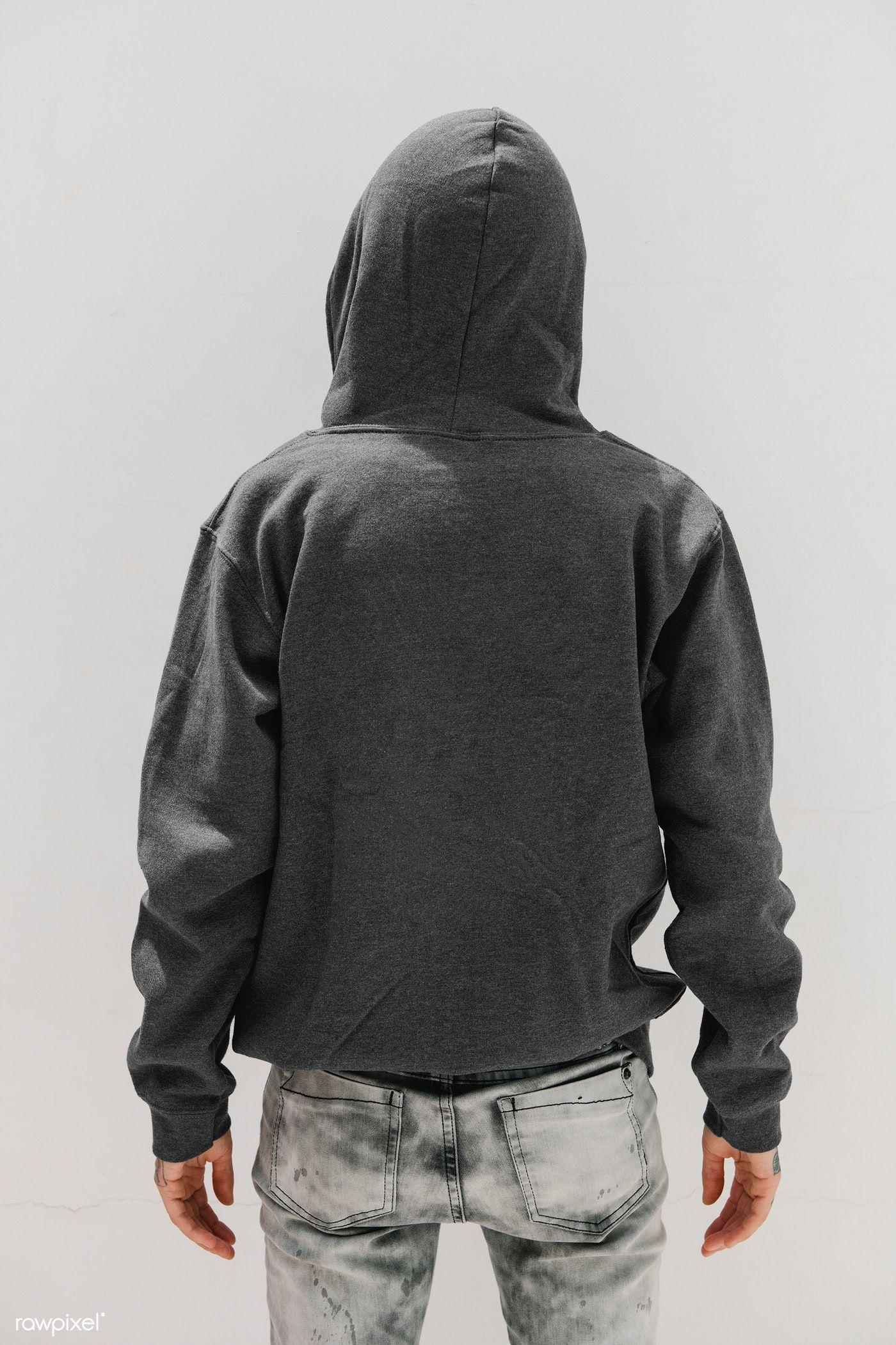 Download Download Premium Psd Of Cool Girl Wearing A Gray Hoodie Mockup 1215246 Hoodie Mockup Hoodie Mockup Free Hoodies