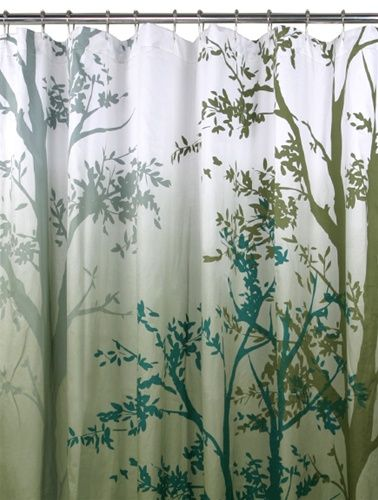 Trees Shower Curtain Just Trees Pinterest Tree