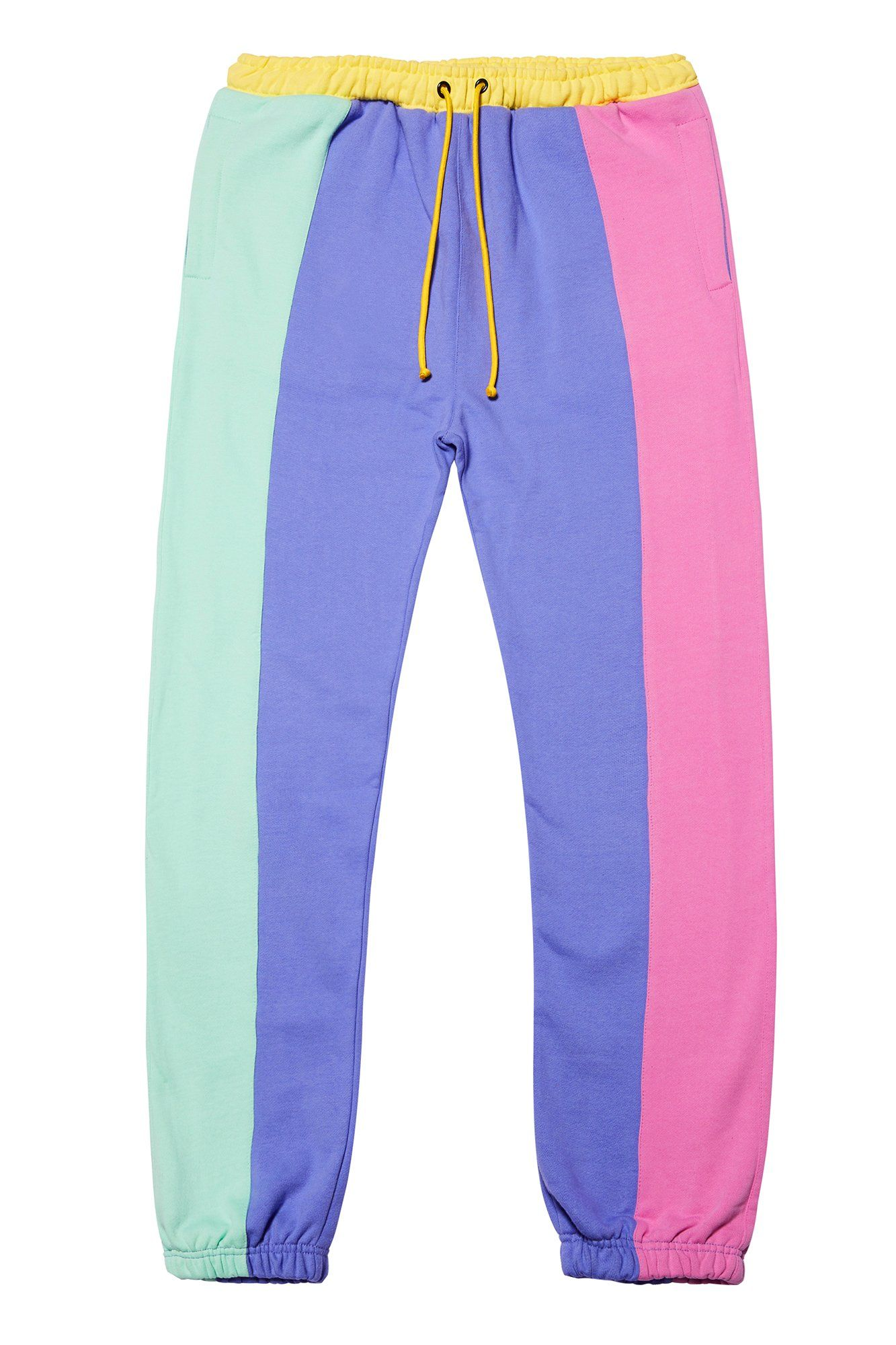 8f76c04c2da5d Pastel Color Block Jogger Pants in 2019 | Fashion | Jogger pants ...