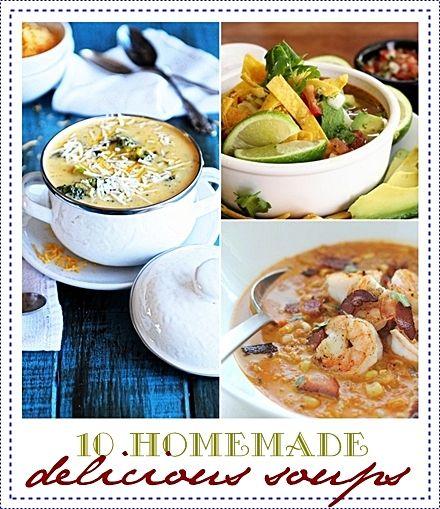10 Homemade Delicious Soups