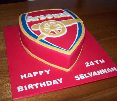 Arsenal Birthday Cake Ideas FREE ADVERTISING new board www