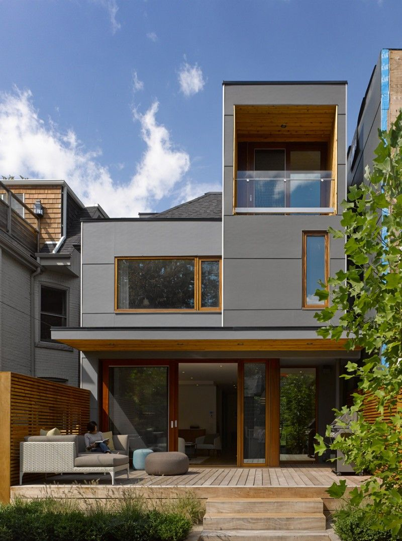 Superkul Adds Light And Space To This Home In Toronto Architecture House Architecture Modern House Exterior