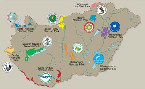 magyar nemzeti parkok térkép FATÁJ online __31 ezer hektár a nemzeti parkoknak__   Suli